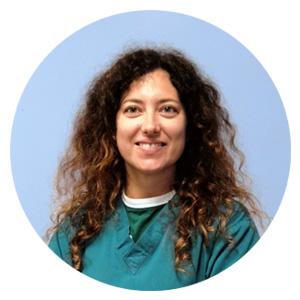 Foto della dottoressa Castellano della Clinica Veterinaria Sant'Eufemia